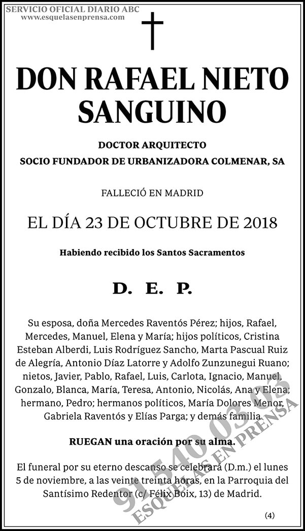 Rafael Nieto Sanguino